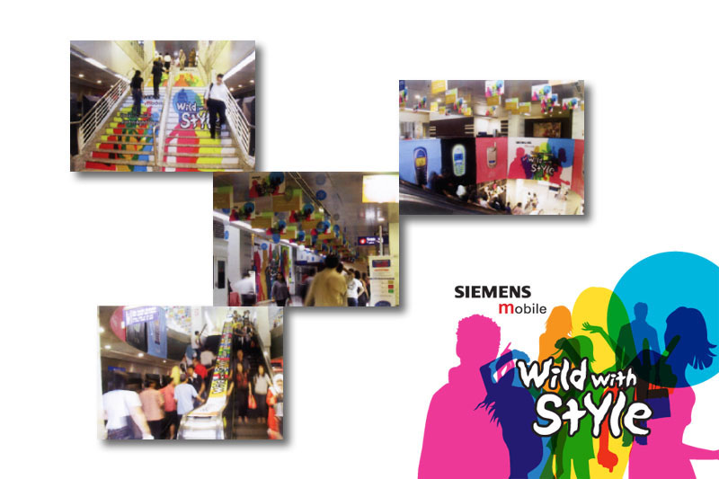 New Product Launch Event and Ambient Design
