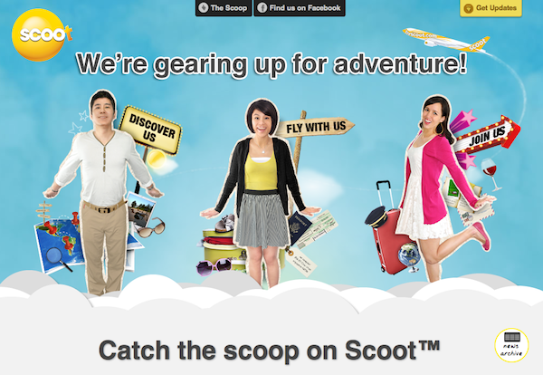 Scoot Budget Singapore Airlines