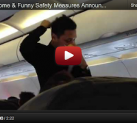 AirAsia Awesome Funny Safety Measures Announcement